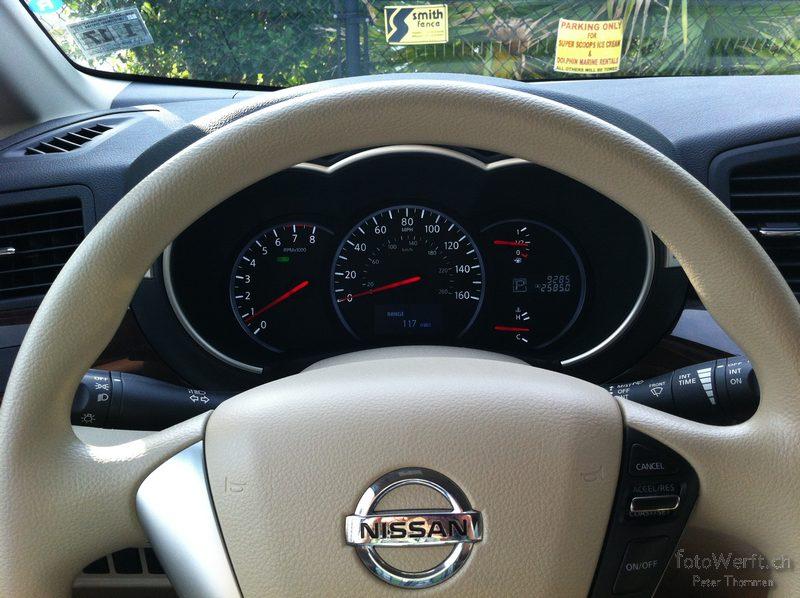 Ein Nissan Quest mit 9000 Meilen