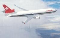 Postkarte-Swissair-MD11