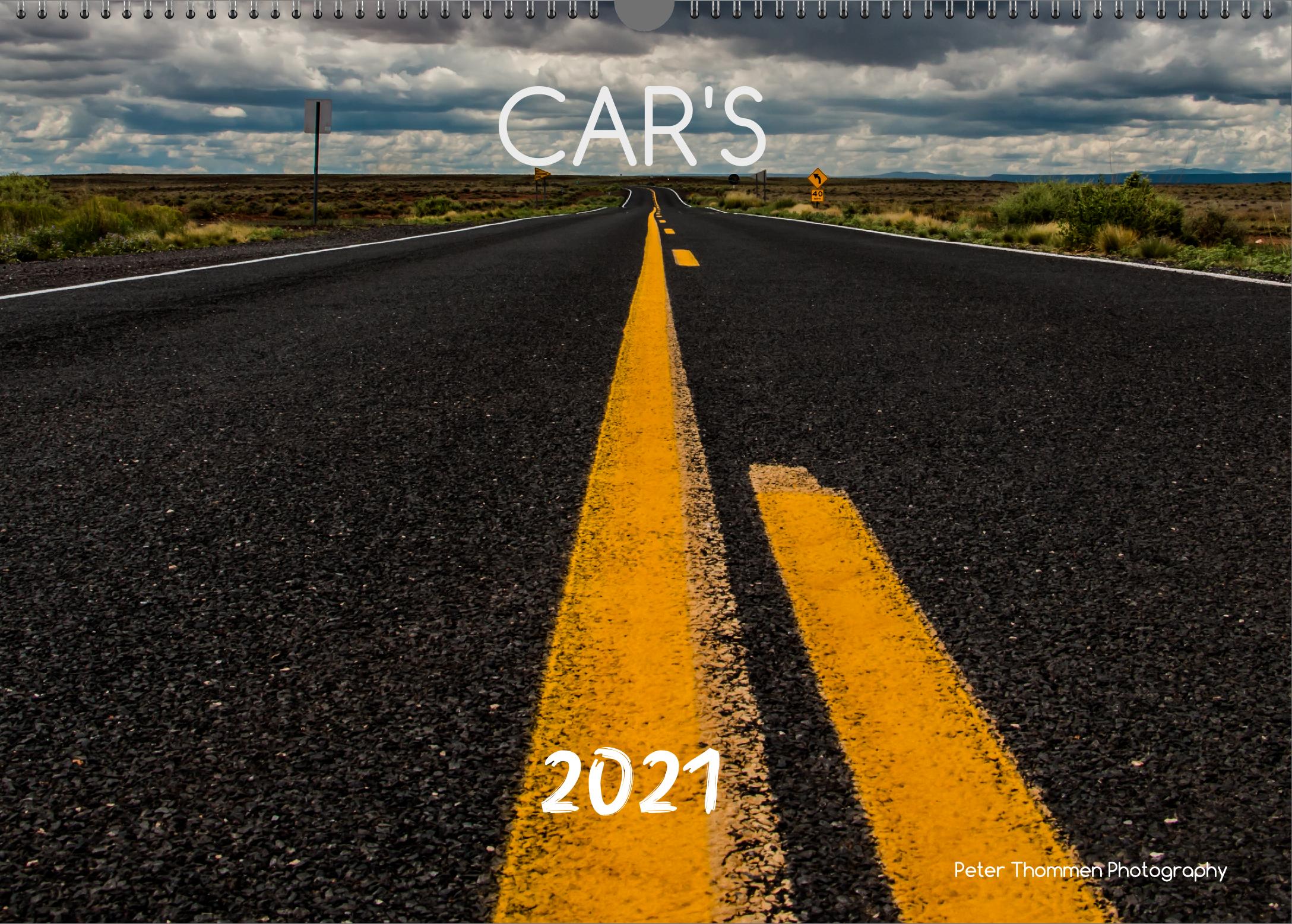 Kalender Car's 2021